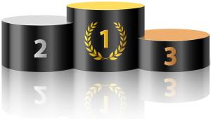 podium top 3